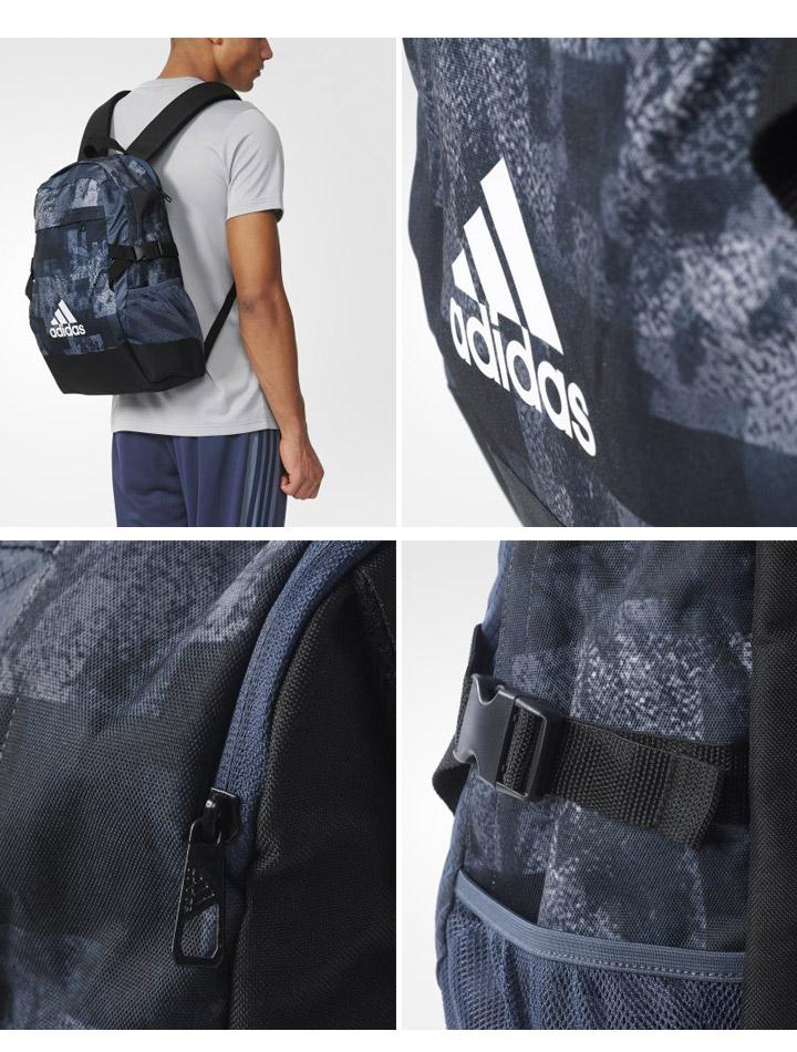 a9bae2e031bb Adidas adidas backpack POWER3 Backpack Rucksack bag bag men s gym sports  bag sport AY5095 logo 3 stripe  BQN50 05P03Sep16