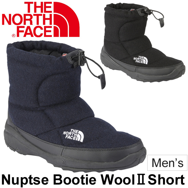 42b6db270 North face Nuptse Bootie Wool2 mens boots THE NORTH FACE nubs booties  short-length winter shoes men's waterproof repellent water waterproof warm  ...