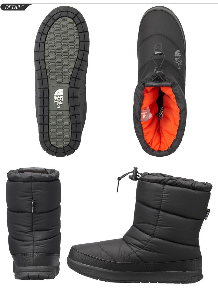 北脸北脸女靴子 '菜鸟' 赃物 4 妇女冬季鞋温暖户外靴中等长度防水防水 /NFW51685 /