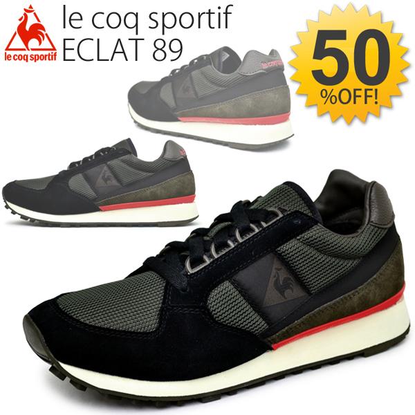 6d4add69f85 Lecoq ECLAT 89 men s Ladies Shoes Le Coq Sportif ECLAT89 running shoes  sneakers casual shoes retro mesh athletic shoes low  QMT-5302