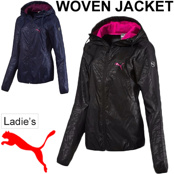 96908706ac34 APWORLD  PUMA PUMA women s woven Jacket Women s windbreaker Hoodie ...