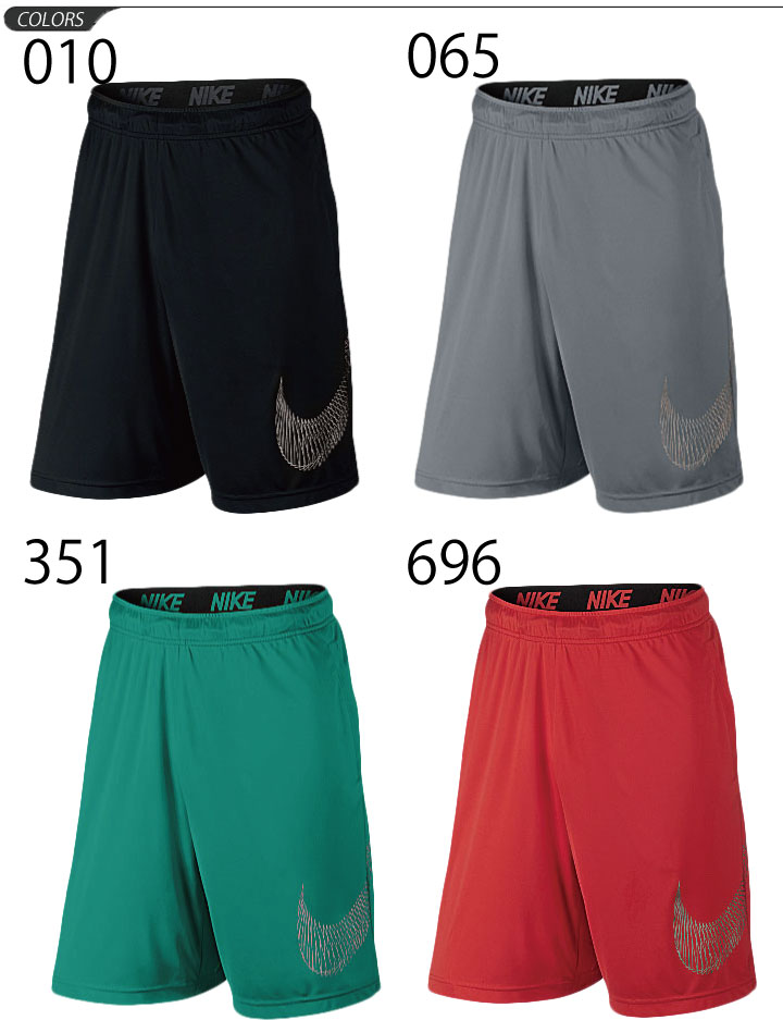 APWORLD: Nike men's shorts NIKE DRY-FIT 9-inch training ...