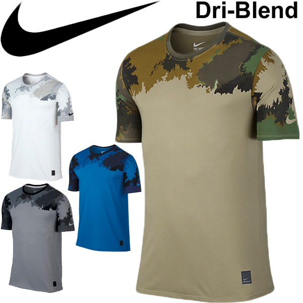 fd758527 APWORLD: Nike NIKE men's short sleeve T shirts NIKE DRI-FIT blend ...