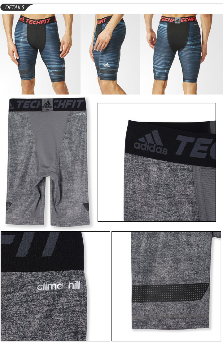 391613fa71 ... Adidas adidas tech fit underwear inner pants leggings TECHFIT football  soccer training men and men's bath