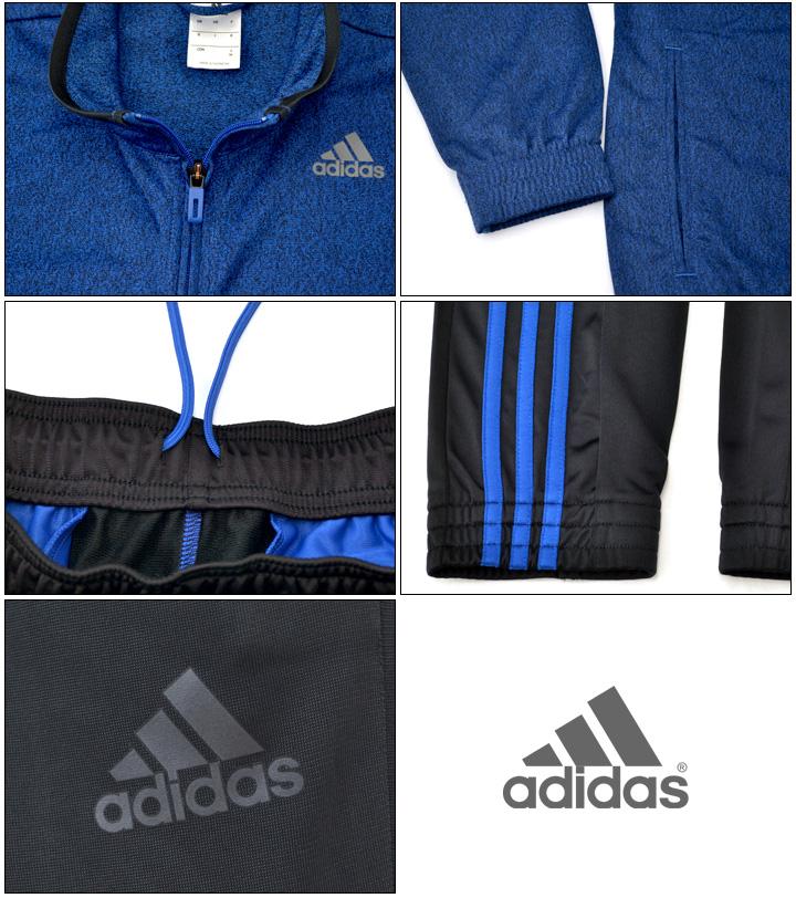 b77194d8c6 Adidas men's adidas Jersey upper and lower pairs ICONIC tracksuit down set  sports training gym men Setup Climalite basic /BFR64