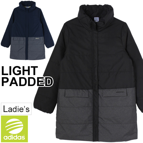 Adidas light padd coat adidas neo ladies outer half court cocoon warm lightweight sports casual clothing women BUU36