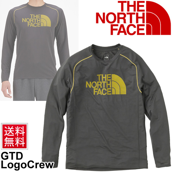 95f4bbbabe0 North face men s running shirt long sleeve T shirt THE NORTH FACE GTD logo  men sportswear ultra thin lightweight training gym  NT61689