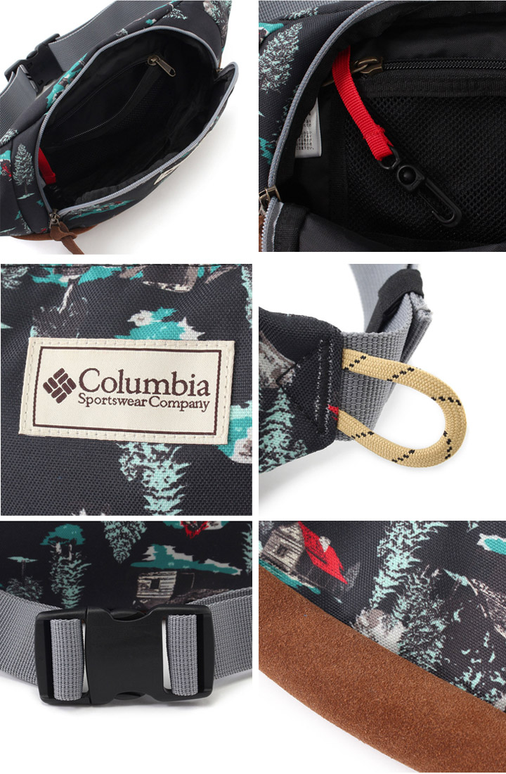 80a2830a1e7749 Colombia Columbia   hip bag Tokat hip bag II waist pouch bag bag jogging  marathon running walking sports bag outdoor men s women s  PU8974