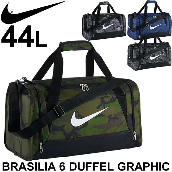 Duffle Bag Nike NIKE   Brasilia 6 graphic S size 44L Boston bag sports bag  Camp Club expedition gym travel  BA5116 473d2da1d589c