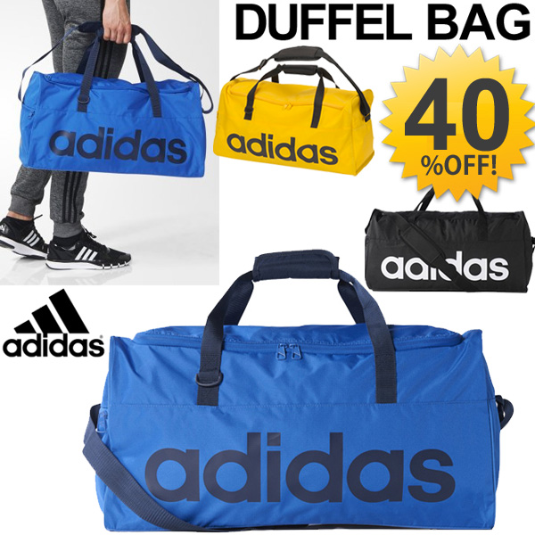 d8b81274ec41 Adidas Duffle Bag adidas linear team bag M sports bag bag bag gym  expedition-camp travel  BFP15