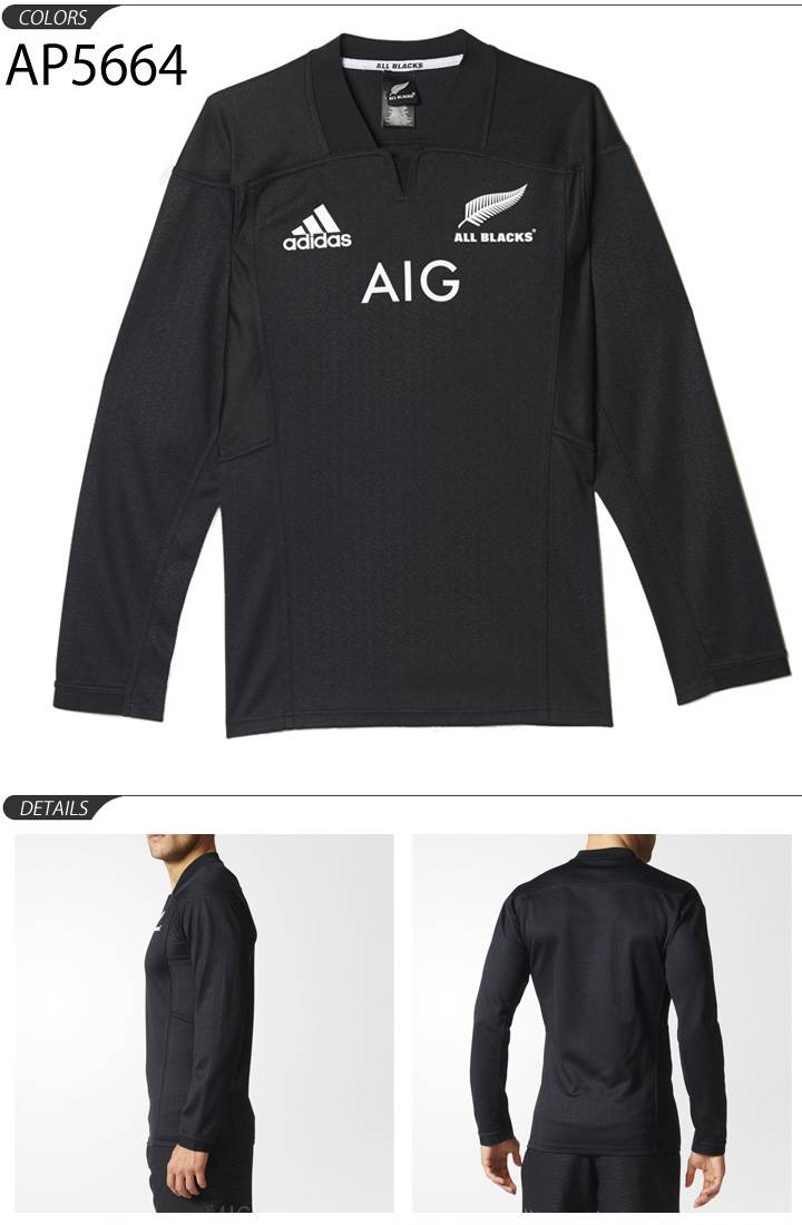 27b9bcd4dc2 APWORLD  Adidas men s all blacks adidas adidas ALL BLACKS shirt long ...