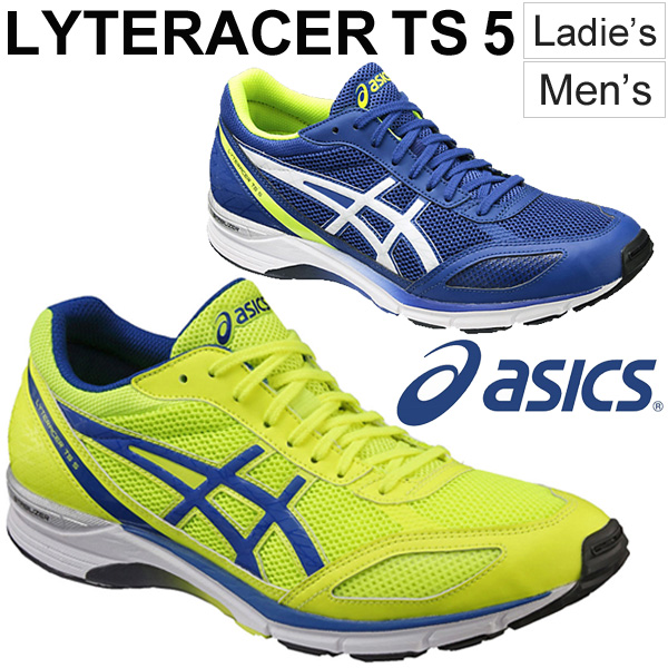 Apworld rakuten global market asics asics light racer ts 5 asics asics light racer ts 5 running shoes ladies mens lyteracer ts 5 men and women and for unisex asics track and field club jogging speed training aloadofball Image collections