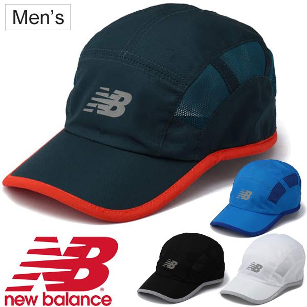 Hat ぼうし jogathon land training sports club activities campaign NB logo  /AAH71679 for the New Balance men running cap new balance man