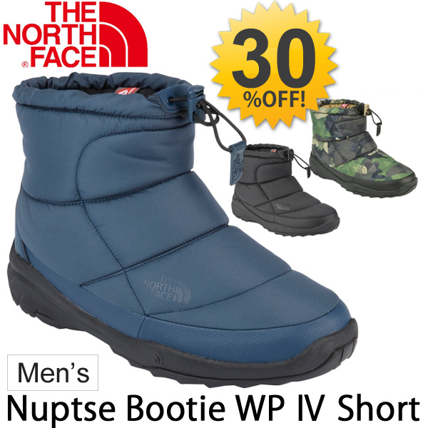 760bb6e72 North face boots THE NORTH FACE men's nubs booties waterproof 4 short-men's  waterproof repellent water cold warm outdoor casual shoes shoes /NF51586 /