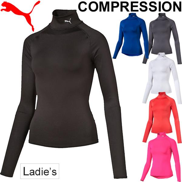67d9c8ff2dc Women's light compression sleeve long sleeve shirt Marathon long sleeve  women PUMA PUMA running gym training ...