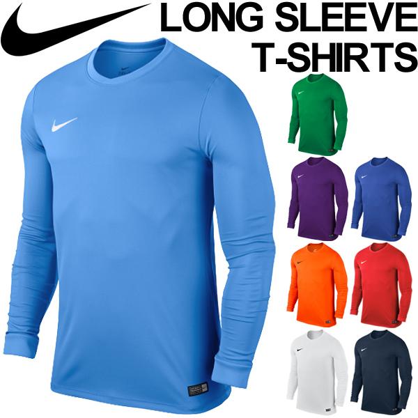 56fbb81b Men's T-shirt Nike NIKE DRI-FIT park 6 jersey long sleeves shirt soccer ...
