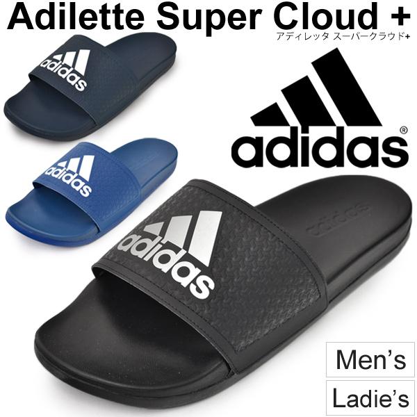 602cf433c adidas adidas shower Sandals Sport Sandals adiliette Super cloud + men's  women's shoes shoes Beach Ocean ...
