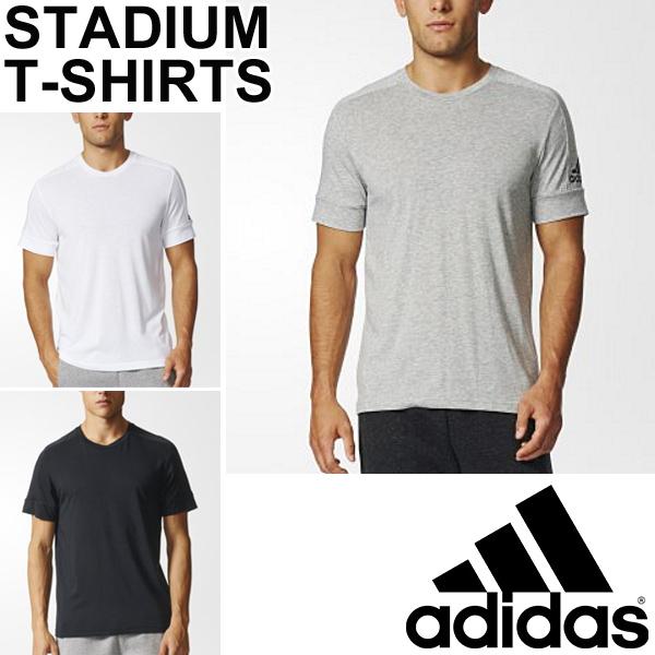 T shirt Adidas men short sleeves shirt adidas M ID stadium Tee crew neck training sports casual wear logo man plain fabric tops BVC58