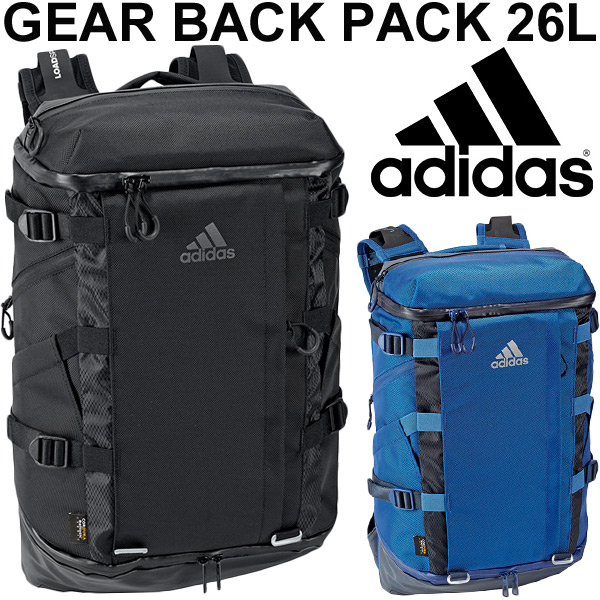 バックパック アディダス adidas OPS GEAR リュックサック デイパック 26L スポーツバッグ トレーニング 高機能バック メンズ ユニセックス ジム 合宿 部活 旅行 鞄 かばん/MKS42