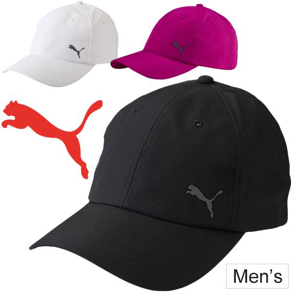 PUMA PUMA Cap Hat caps sports mens unisex CAP and running jogging Marathon  walking plain white  puma052908 05P03Sep16 3b417d8e863