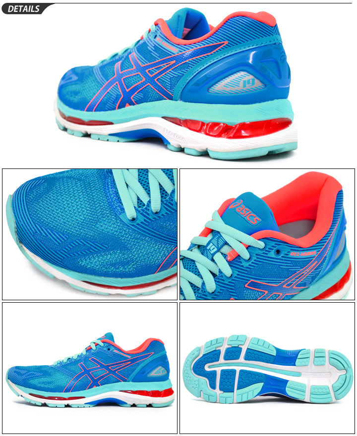 separation shoes 8d7ee 785f6 ASICS Lady's running shoes asics GEL-NIMBUS 19 lady gel nimbus 19 beginner  fan runner marathon sub4.5 exercise training woman shoes /TJG513