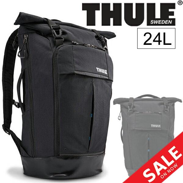 バックパック スーリー THULE ロールトップパック 24L PC収納 リュックサック デイパック カジュアル メンズ レディース 通勤鞄 正規品/tRdp115