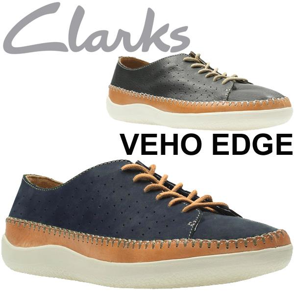 クラークス カジュアルシューズ メンズ Veho Flow Clarks 正規品 ビオフロウ 721E Navy