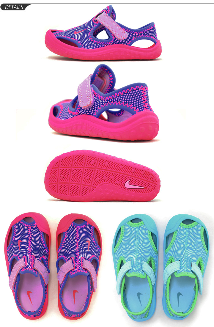 e92e19adb7a Child kids shoes child shoes 13.0-16.0cm pool sea bathing Velcro  903634 of  the baby sandals child Nike NIKE sun lei protection TD boy woman
