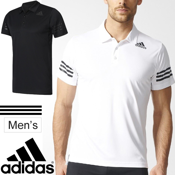 8223405ebb8e Polo shirt short sleeves men Adidas adidas adidas M4T function polo shirt  training suit sports casual wear short sleeves shirt man running cycling ...