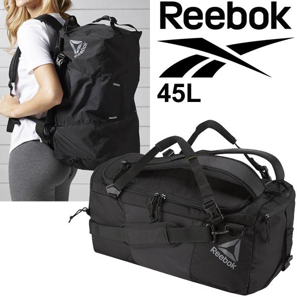fad30400 Duffel bag backpack Reebok Reebok one series convertible back 45L men's  lady's sports bag BK6430 unisex Boston bag /BXF10