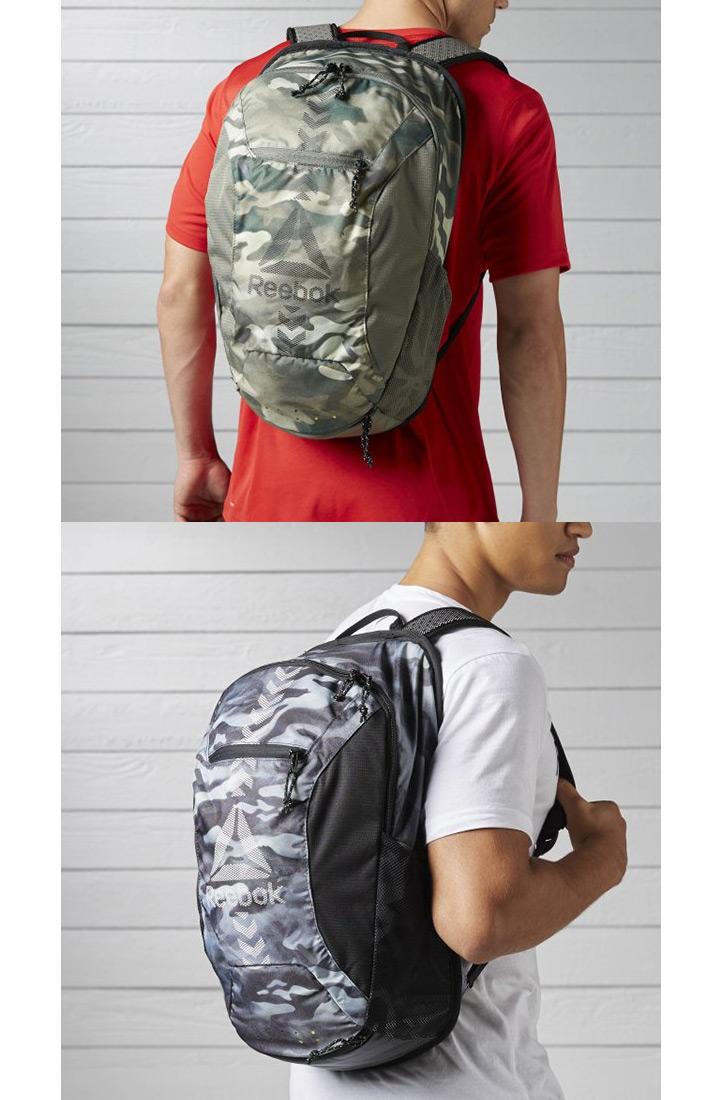 Backpack Boston bag Reebok Reebok sports bag men rucksack 24L day pack camo  camouflage pattern casual basic club activities commuting school bag unisex  bag ...