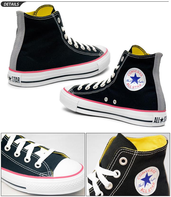 CONVERSE high cut sneakers ALL STAR POPPER HI and converse all-star Popper ox white 1R127 black 1R129 ladies
