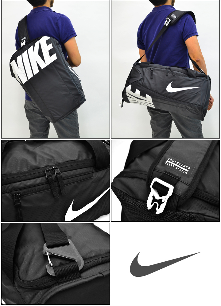 Nike Duffle Bag L Size Club Training Gym Camp Expedition Travel Sports Mens Uni Ba5183 05p03sep16