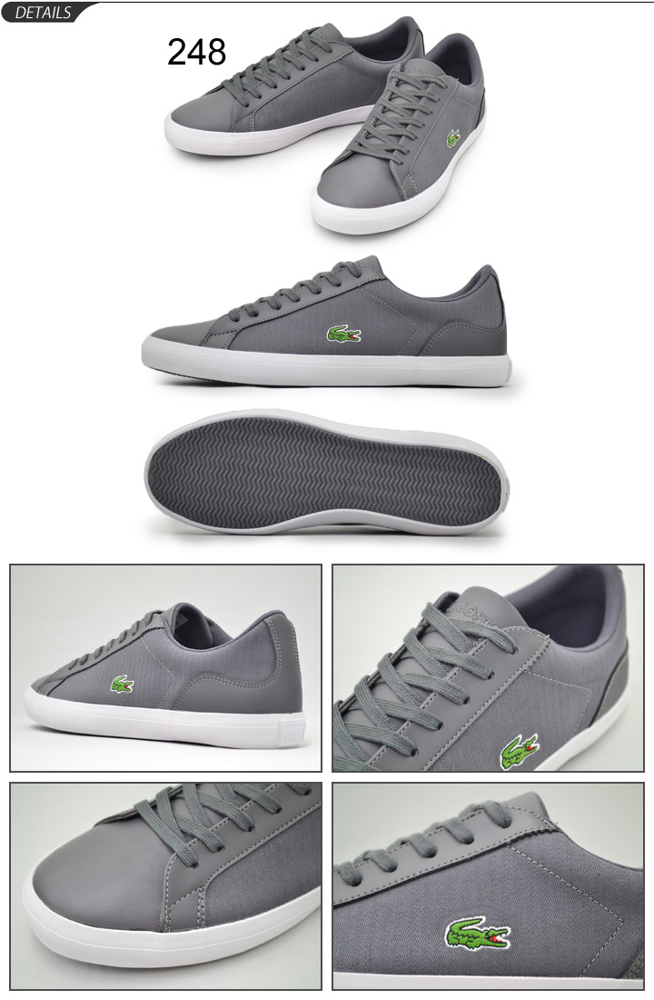 lacoste shoes gray - 55% OFF