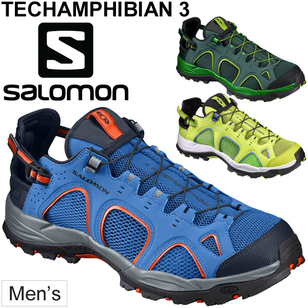 Sports shoes 394703 FOOTWEAR regular article /TechAmphibian for the water shoes men Salomon SALOMON TECHAMPHIBIAN 3 amphibious outdoor technical trail man