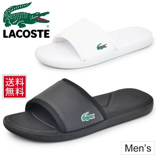 8219f161f129e Shoes beach sea pool recreation daily ぺたんこ フラットサンダルスポサン regular article   SPM2169 for the shower sandals men Lacoste LACOSTE L.30 SLIDE SPORT ...
