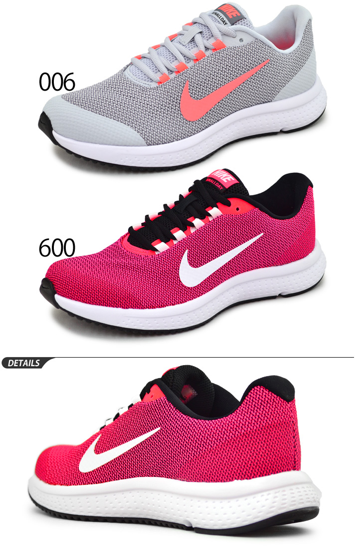 1a90a3335d8 Running shoes Lady s Nike NIKE women orchid Allday running shoes RUNALLDAY  woman shoes walking gym sports shoes sneakers regular article  898484