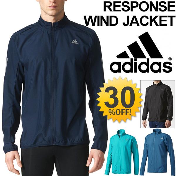 Wind jacket running Adidas adidas RESPONSE men windbreaker jogging training walking sportswear outer BUF49