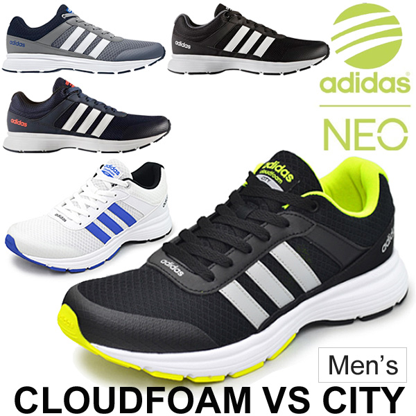 adidas neo cloudfoam vs city boys' running shoes nz