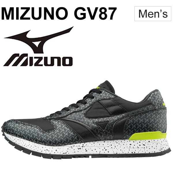 メンズスニーカー シューズ ミズノ MIZUNO GV87 復刻モデル ローカット MIZUNO1906 スポーツカジュアル くつ 男性 靴/D1GA1707