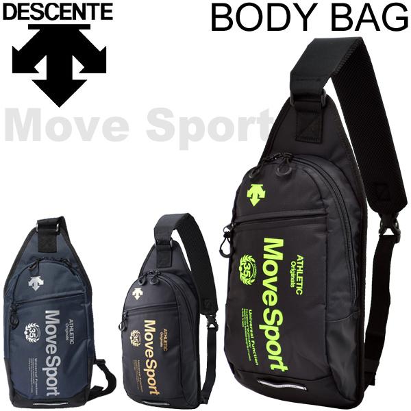 224d52973265 Take Descente Descente body bag MoveSport sports bag one shoulder bag bag  shawl slant  bag reflector DAC8725 outdoor casual  DAC-8725