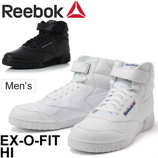 7da7a3bf654 Reebok sneakers men Reebok Reebok イーエックスオーフィットハイレザー nature leather higher  frequency elimination shoes casual street 3477 white white 3478 ...
