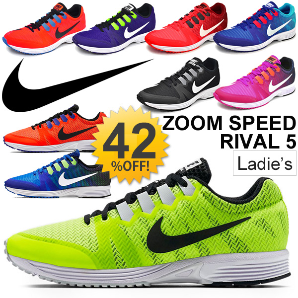 Nike NIKE running shoes women's sneaker air zoom speed rivals 5 training  jogging women's sports shoes shoes / 831706 / 05P03Sep16