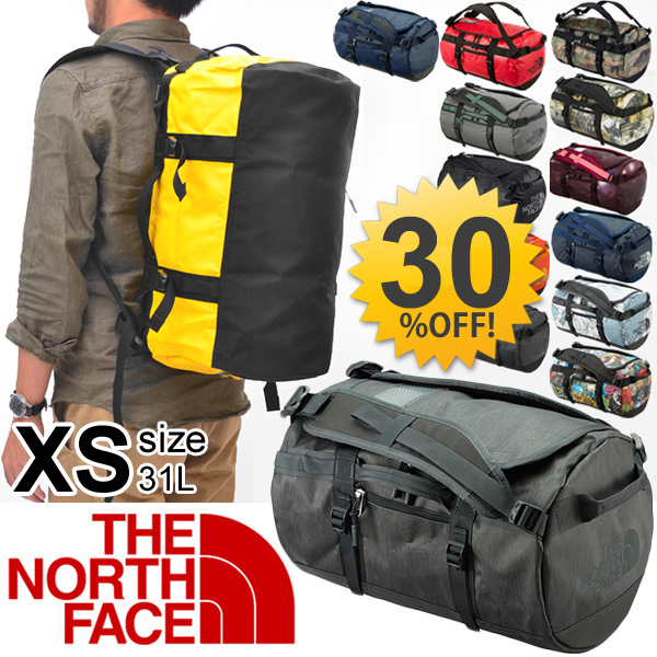 bffd9803b1 THE NORTH FACE base camp duffel bag Northface BC series Boston bag backpack  outdoor men s ladies bag XS size  NM81555 05P03Sep16