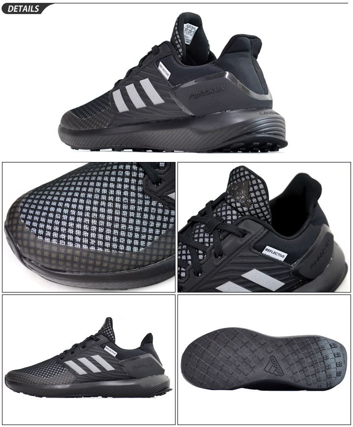 Child child Adidas kids sneakers adidas KIDS RapidaRun K ?????????????? child shoes 21.0 25.0cm sports shoes boy girl BY8971 sports shoes RapidaRunK