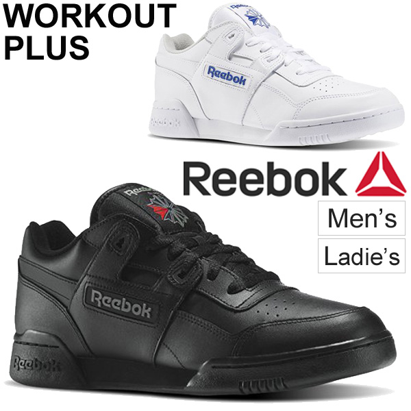 Reebok sneakers Lady's men Reebok Reebok practice game cross training leather nature leather low frequency cut shoes 2759 white white 2760 black