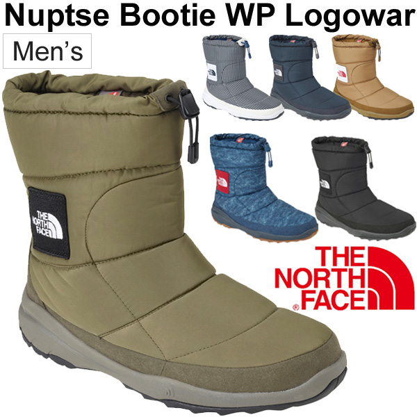 970565a53 Winter boots men's the North Face THE NORTH FACE ヌプシブーティーウォータープルーフ V LOGO  wear outdoor casual boots cold protection ...