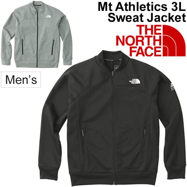 スウェット ジャケット メンズ ザノースフェイス THE NORTH FACE マウンテン アスレチックス 男性用 トレーニングウェア アウトドア アウター スエット 防風 カジュアル Mt.Athletics 3L Sweat Jacket 正規品/NP21785