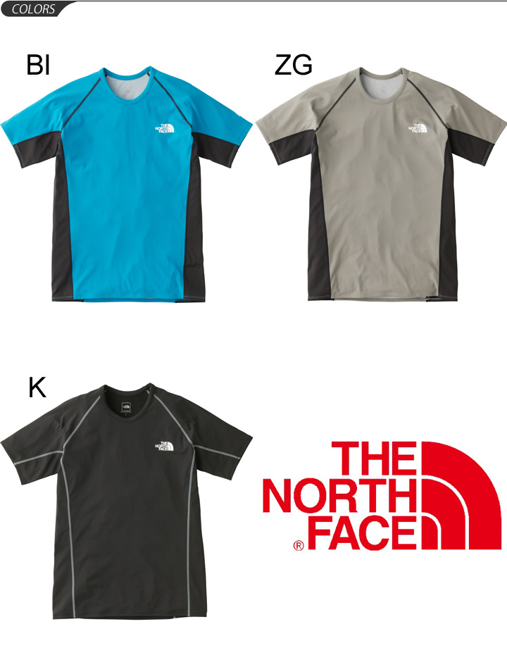 0d655e26a Sweat shirt gym running sweat perspiration fast-dry stretch Enduro Fit  sportswear /NT61790 for the T-shirt short-sleeved men's the North Face THE  ...