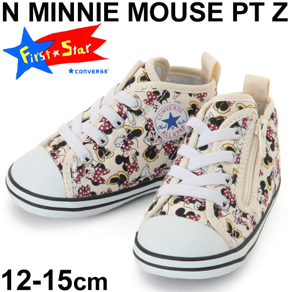 267f60e4e3 Child child Converse baby all-stars Minnie Mouse PT Z CONVERSE BABY ALLSTAR Disney  character shoes child shoes 12.0-15.0cm sports shoes shoes 7CK901 regular  ...